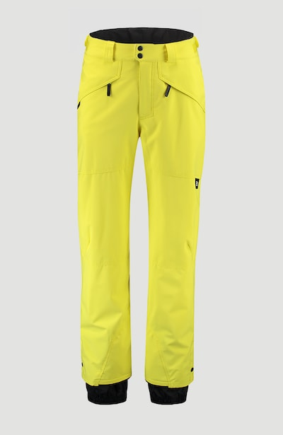 O'NEILL Pantalon outdoor 'Hammer' en jaune, Vue avec produit