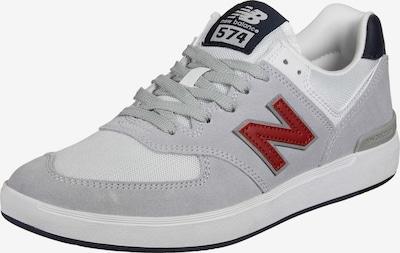 new balance Sneaker in dunkelblau / grau / rot / weiß, Produktansicht