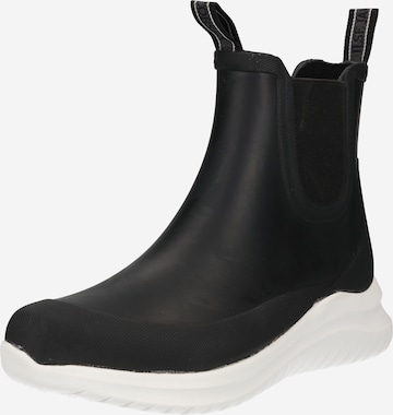 ILSE JACOBSEN Chelsea Boots i svart