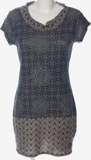 Aiki Keylook Kurzarmkleid in L in blau / hellgrau, Produktansicht