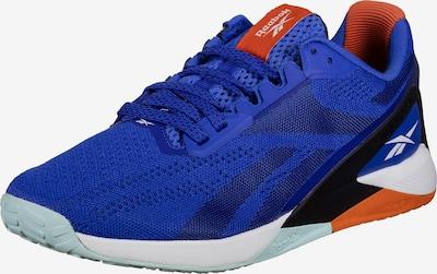 Reebok Sport Sportschuh 'Nano X1' in kobaltblau / orange / schwarz / weiß, Produktansicht