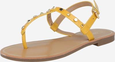 ONLY Séparateur d'orteils 'MELLY' en jaune, Vue avec produit