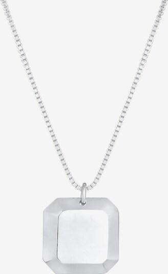 ELLI Halskette Geo in silber, Produktansicht