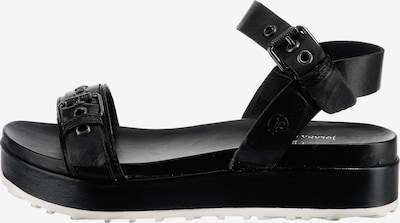 JOLANA & FENENA Strap Sandals in Black, Item view