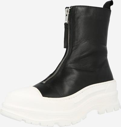 Botine Bianco pe negru, Vizualizare produs