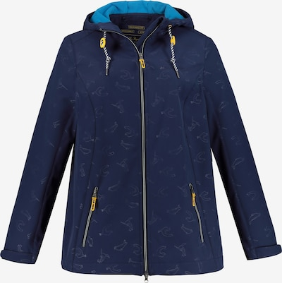 Ulla Popken Jacke in dunkelblau, Produktansicht