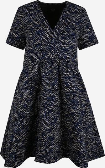 Y.A.S (Petite) Kleid 'Vicci' in beige / blau / schwarz, Produktansicht