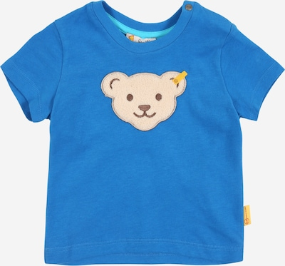 STEIFF T-Shirt in beige / royalblau, Produktansicht