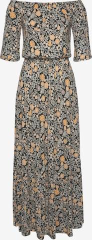 LASCANA Kleid in Mischfarben