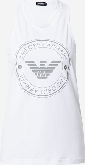 Emporio Armani Pajama shirt in Grey / White, Item view