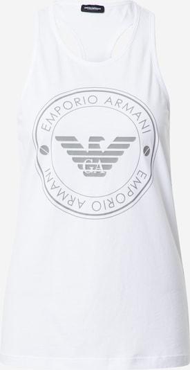 Emporio Armani Top in grau / weiß, Produktansicht