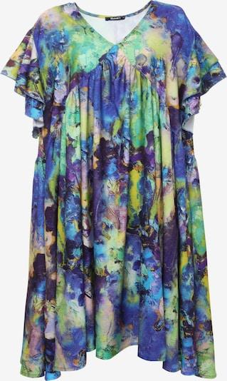 Madam-T Jurk 'KURIA' in de kleur Blauw / Lila, Productweergave