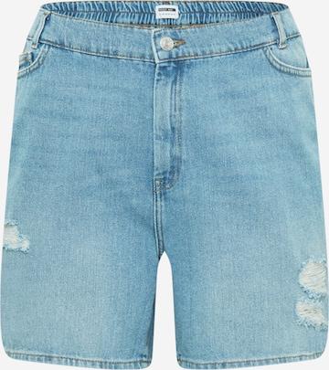 Noisy May Curve Jeans 'LOTTIE' in Blue