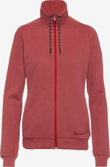 VAUDE Sweatjacke 'Redmont' in pastellrot, Produktansicht