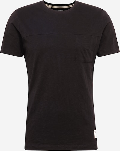 SELECTED HOMME T-Shirt 'SLHETHAN' in schwarz, Produktansicht