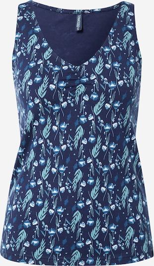 Tranquillo Top in blau / türkis / dunkelblau / weiß, Produktansicht
