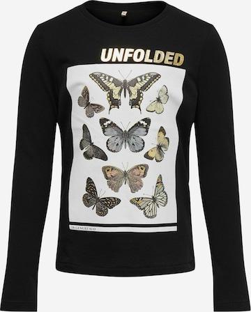 ONLY Shirt in Schwarz