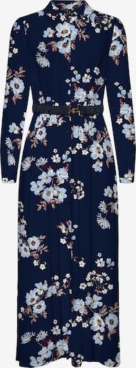 Rochie tip bluză 'Roma' VERO MODA pe bej deschis / bleumarin / albastru fumuriu / roșu vin / alb, Vizualizare produs