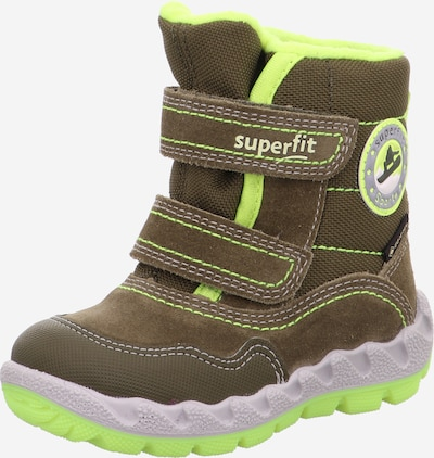 Sniego batai 'Icebird' iš SUPERFIT , spalva - geltona / žalia, Prekių apžvalga