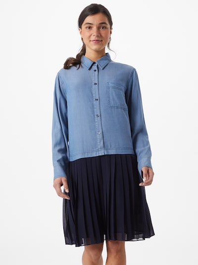 STEFFEN SCHRAUT Jurk 'Lauren' in de kleur Indigo / Lichtblauw, Modelweergave