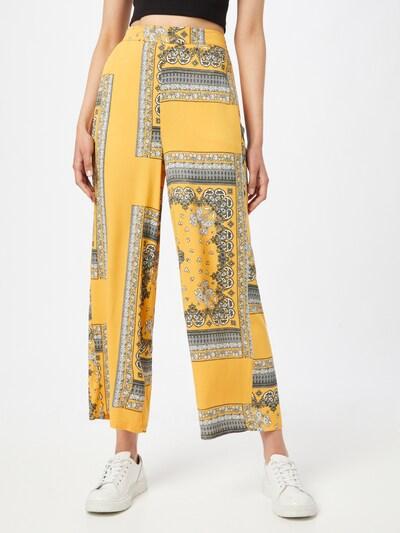 ONLY Hose 'ALMA' in gelb / schwarz / weiß, Modelansicht