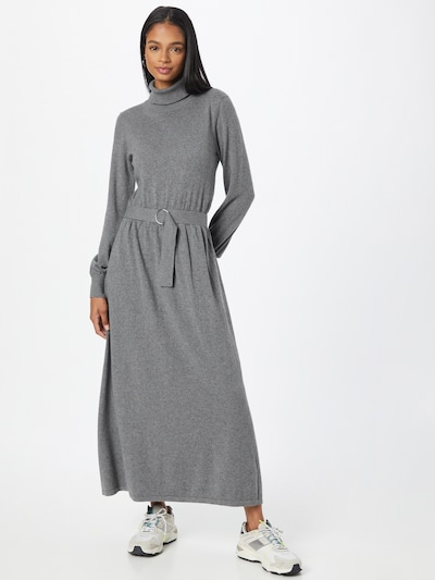 Esprit Collection Pletené šaty - sivá, Model/-ka