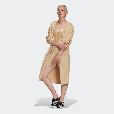 ADIDAS ORIGINALS Cardigan in beige, Modelansicht