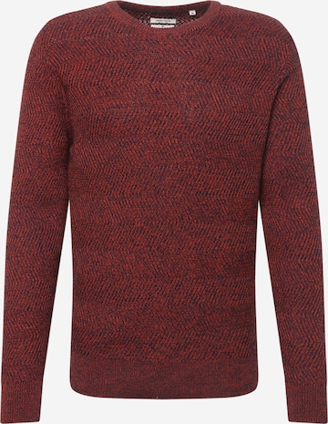 TOM TAILOR Sweater in Red