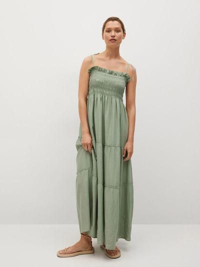 MANGO Kleid 'Celia' in mint, Modelansicht