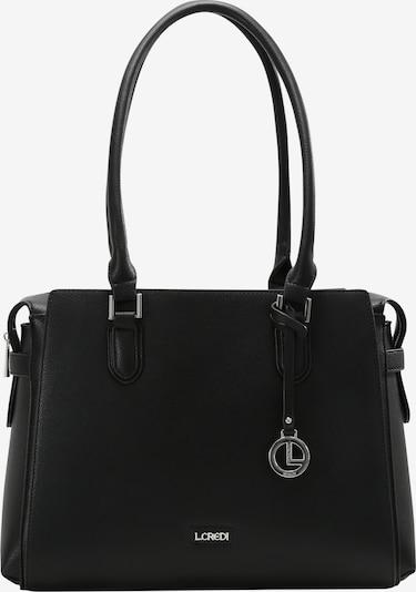 L.CREDI Shopper 'Filippa' in schwarz, Produktansicht