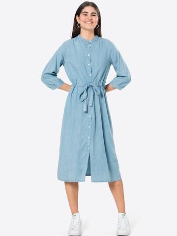 MOSS COPENHAGEN Shirt Dress 'Jaina' in Blue