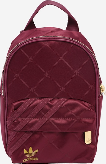 ADIDAS ORIGINALS Backpack in Gold / Red violet, Item view