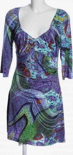JOACHIM BOSSE Langarmkleid in L in grün / lila, Produktansicht