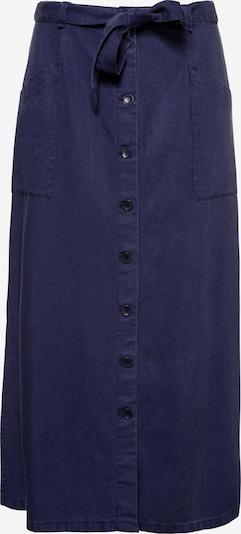 Ulla Popken Rok '727283' in de kleur Nachtblauw, Productweergave