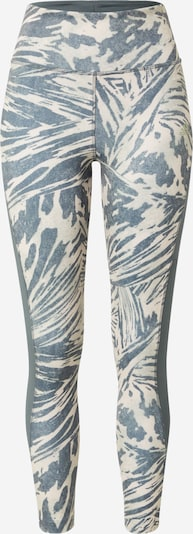 ADIDAS PERFORMANCE Sporthose in beige / taubenblau, Produktansicht