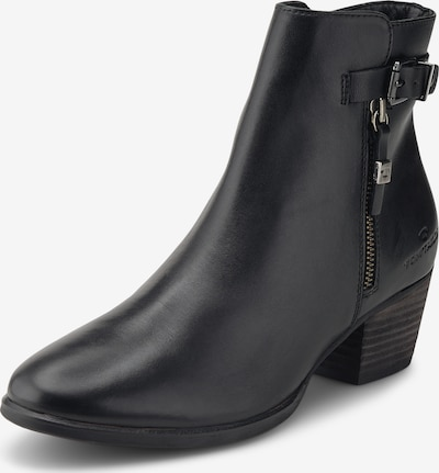 TOM TAILOR Ankle Boots in schwarz, Produktansicht