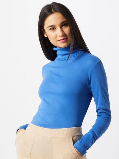 Q/S designed by Shirt in rauchblau, Modelansicht