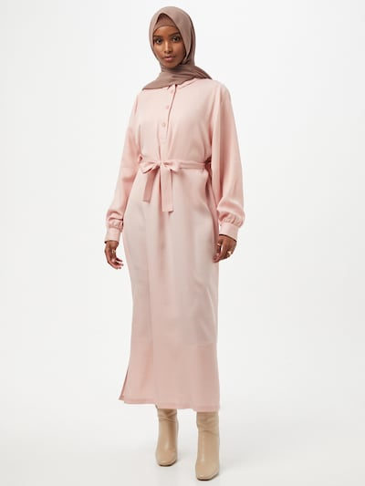 Another Label Kleid 'Douce' in rosa, Modelansicht