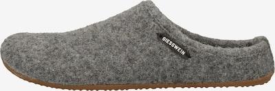 GIESSWEIN Hausschuh in grau, Produktansicht