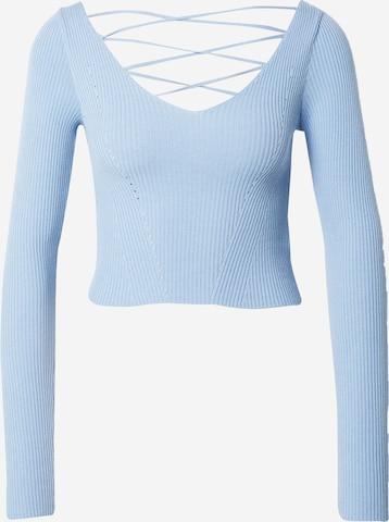 Miss Selfridge Petite Sweater in Blue