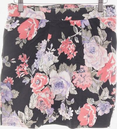 VILA Minirock in M in khaki / pink / schwarz, Produktansicht