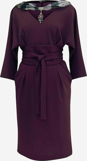 Wisell Kleid in cyclam / dunkellila / dunkelpink, Produktansicht