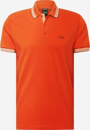BOSS ATHLEISURE Majica 'Paddy' u tamno narančasta / bijela, Pregled proizvoda
