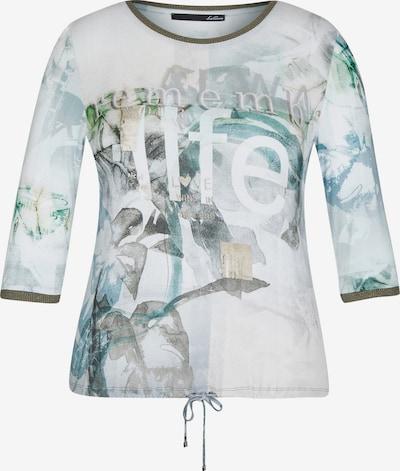 Lecomte Shirt in hellblau / grau / grün / weiß, Produktansicht