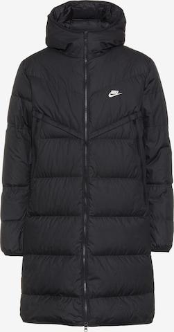 Nike Sportswear Winter Coat in Black
