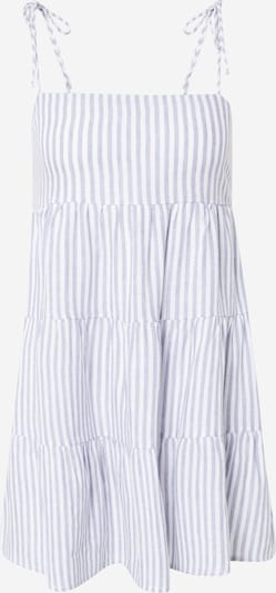 Abercrombie & Fitch Zomerjurk in de kleur Lichtblauw / Wit, Productweergave