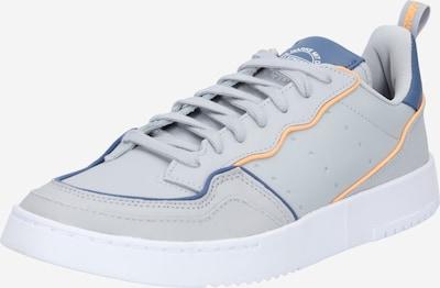 Sneaker bassa 'Supercourt' ADIDAS ORIGINALS di colore blu / grigio / arancione, Visualizzazione prodotti