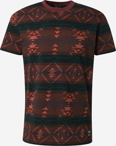 Iriedaily Tričko 'Santania' - petrolejová / červená, Produkt