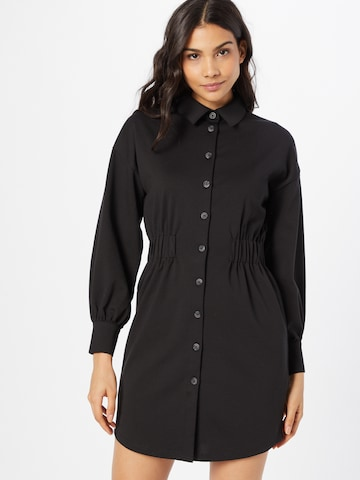 Rochie tip bluză 'Kate' de la ICHI pe negru