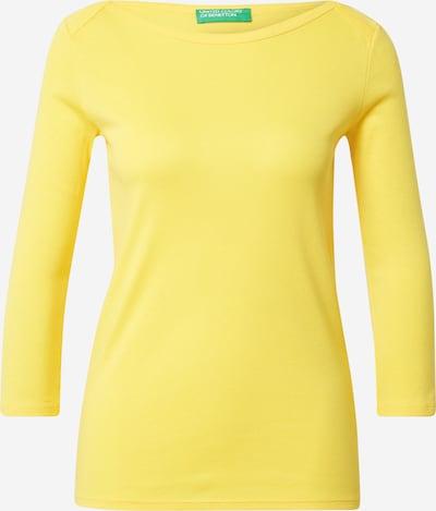 világos sárga UNITED COLORS OF BENETTON Póló, Termék nézet